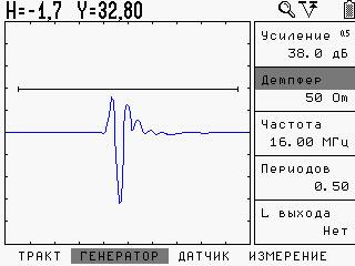 УСД-46 Мощный генератор импульсов и высокая разрешающая способность